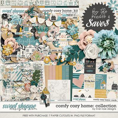 Comfy Cozy Home: Collection + FWP by River Rose Designs