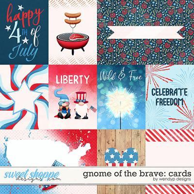 Gnome of the brave - cards by WendyP Designs