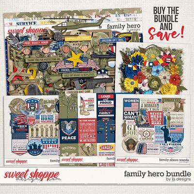 Family Hero Bundle by LJS Designs