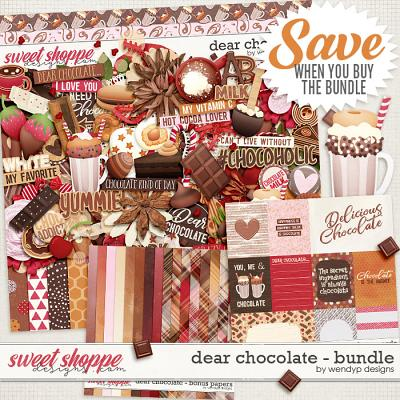 Dear Chocolate - Bundle & *FWP* by WendyP Designs