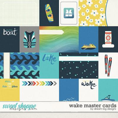 Wake Master Cards by Dream Big Designs