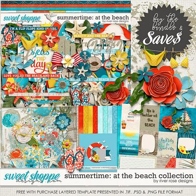 Summertime: At the Beach Collection + FWP by River Rose Designs