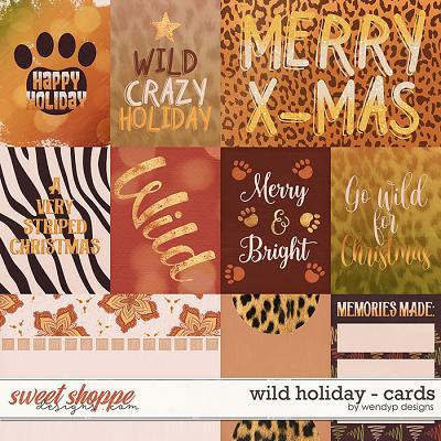 Wild Holiday - Cards by WendyP Designs