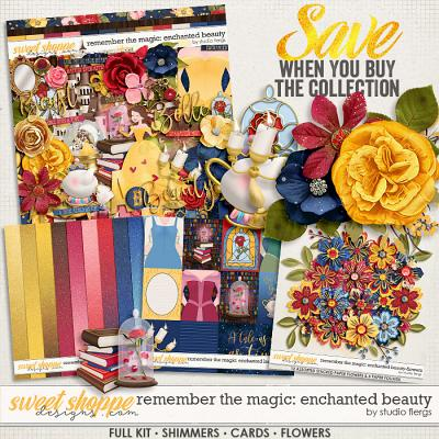 Remember the Magic: ENCHANTED BEAUTY- COLLECTION & *FWP* by Studio Flergs
