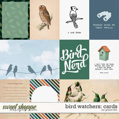 Bird Watchers: Cards by Grace Lee