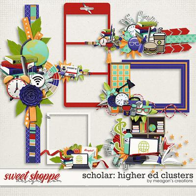 Scholar: Higher Ed Clusters by Meagan's Creations