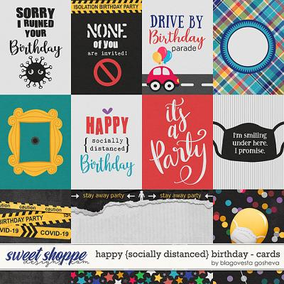 Happy {socially distanced} Birthday: Cards by Blagovesta Gosheva