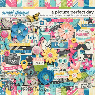 A Picture Perfect Day by Blagovesta Gosheva & Digital Scrapbook Ingredients