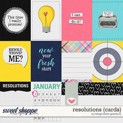 Resolutions {cards} by Blagovesta Gosheva