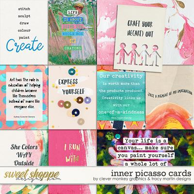 Inner Picasso Cards by Clever Monkey Graphics & Tracy Martin Designs
