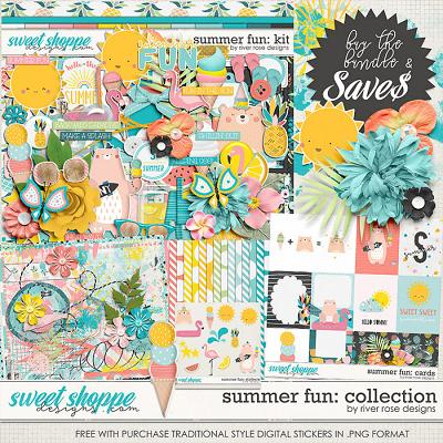 Summer Fun: Collection + FWP by River Rose Designs