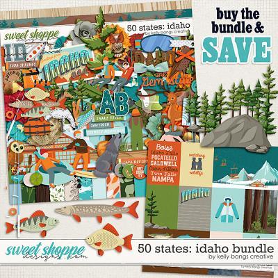50 States: Idaho Bundle by Kelly Bangs Creative