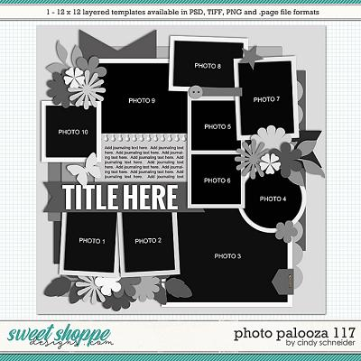 Cindy's Layered Templates - Photo Palooza 117 by Cindy Schneider