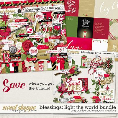 Blessings: Light the World Bundle by Grace Lee and Meagan's Creations