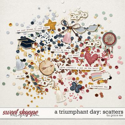 A Triumphant Day: Scatters by Grace Lee