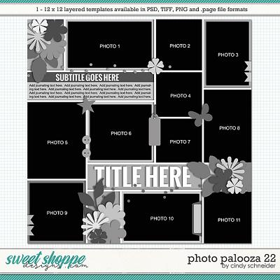 Cindy's Layered Templates - Photo Palooza 22 by Cindy Schneider