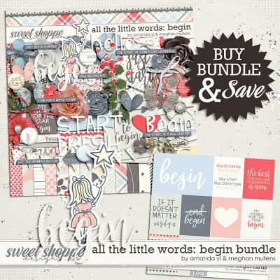 All The Little Words-Begin Bundle by Amanda Yi and Meghan Mullens
