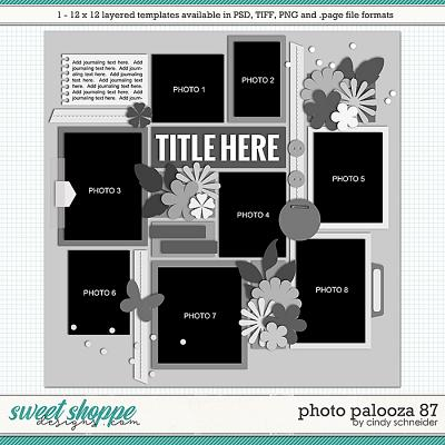 Cindy's Layered Templates - Photo Palooza 87 by Cindy Schneider