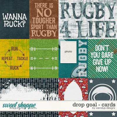 Drop goal - Cards by WendyP Designs