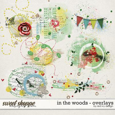 In The Woods - Overlays by Red Ivy Design