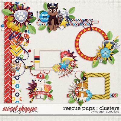 Rescue Pups : Clusters by Meagan's Creations