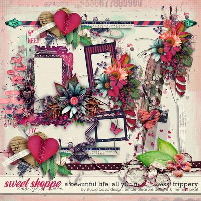 A Beautiful Life: All You Need Is Less Frippery by Simple Pleasure Designs & Studio Basic & The Nifty Pixel