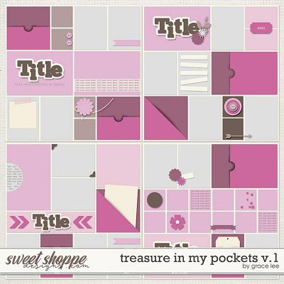Treasures In My Pockets Templates Vol. 1 by Grace Lee