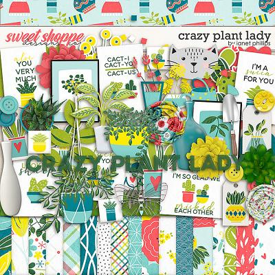 CRAZY PLANT LADY by Janet Phillips