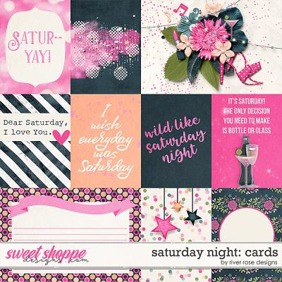 Saturday Night: Cards by River Rose Designs