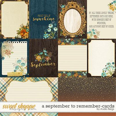 A September to Remember: CARDS by Studio Flergs