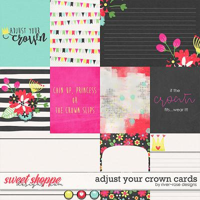 Adjust Your Crown Cards by River Rose Designs
