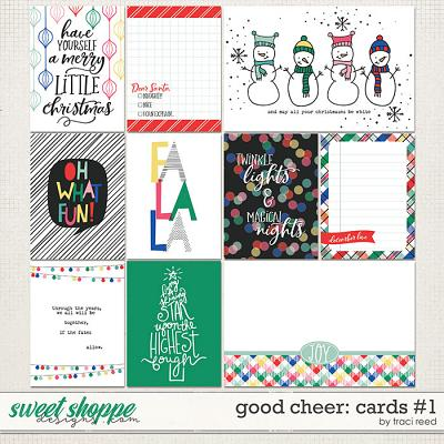 Good Cheer Journal Cards #1 by Traci Reed