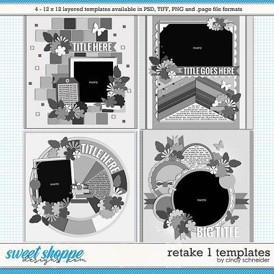 Cindy's Layered Templates - Retake One by Cindy Schneider