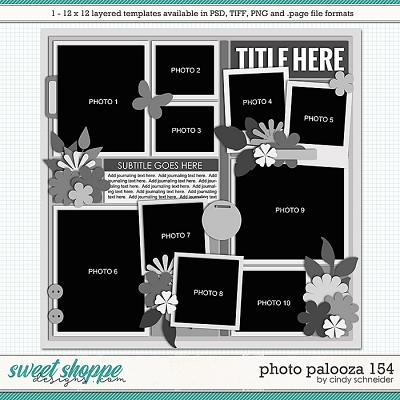 Cindy's Layered Templates - Photo Palooza 154 by Cindy Schneider