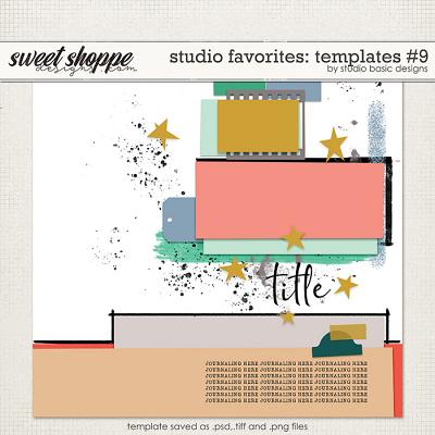 Studio Favorites: Templates #9 by Studio Basic