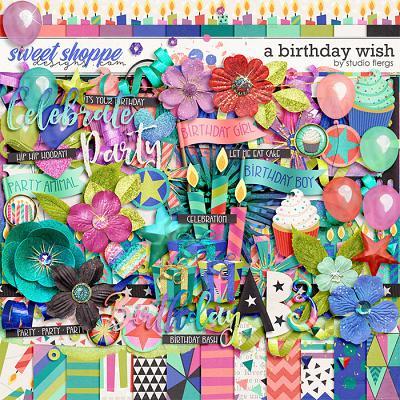 A Birthday Wish by Studio Flergs
