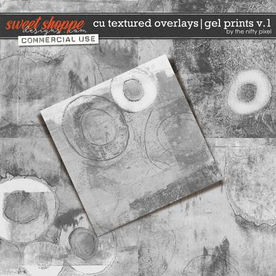 CU TEXTURED OVERLAYS | GEL PRINTS V.1 by The Nifty Pixel