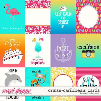 Cruise-Caribbean: Cards by Melissa Bennett