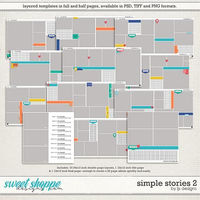 Simple Stories 2 by LJS Designs