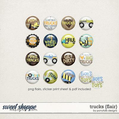 Trucks Flair by Ponytails