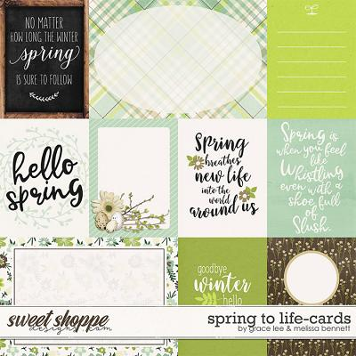 Spring to Life: Cards by Grace Lee and Melissa Bennett