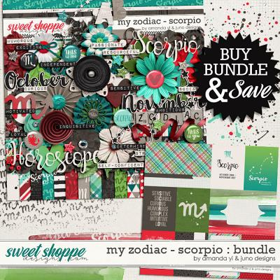 My Zodiac - Scorpio : Bundle by Amanda Yi & Juno Designs