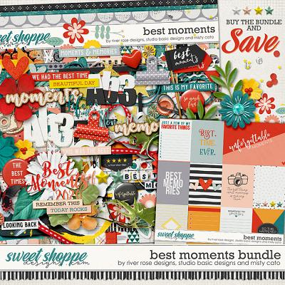 Best Moments Bundle by Misty Cato, River Rose and Studio Basic