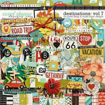 Destinations: Vol 7 - Kit by Studio Basic and Studio Flergs