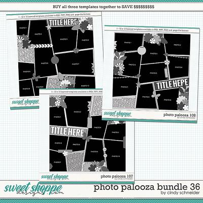 Cindy's Layered Templates - Photo Palooza Bundle 36 by Cindy Schneider
