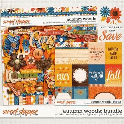 Autumn Woods Bundle by Kristin Cronin-Barrow & Digital Scrapbook Ingredients