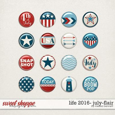 Life 2016-July Flair by Melissa Bennett