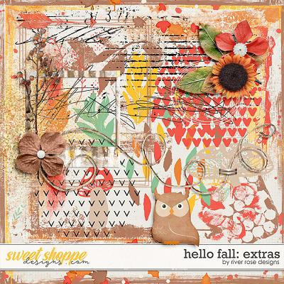 Hello Fall: Extras by River Rose Designs