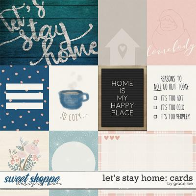 Let's Stay Home: Cards by Grace Lee