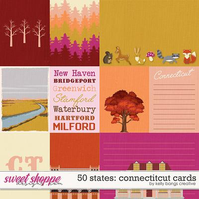 50 States: Connecticut Cards by Kelly Bangs Creative